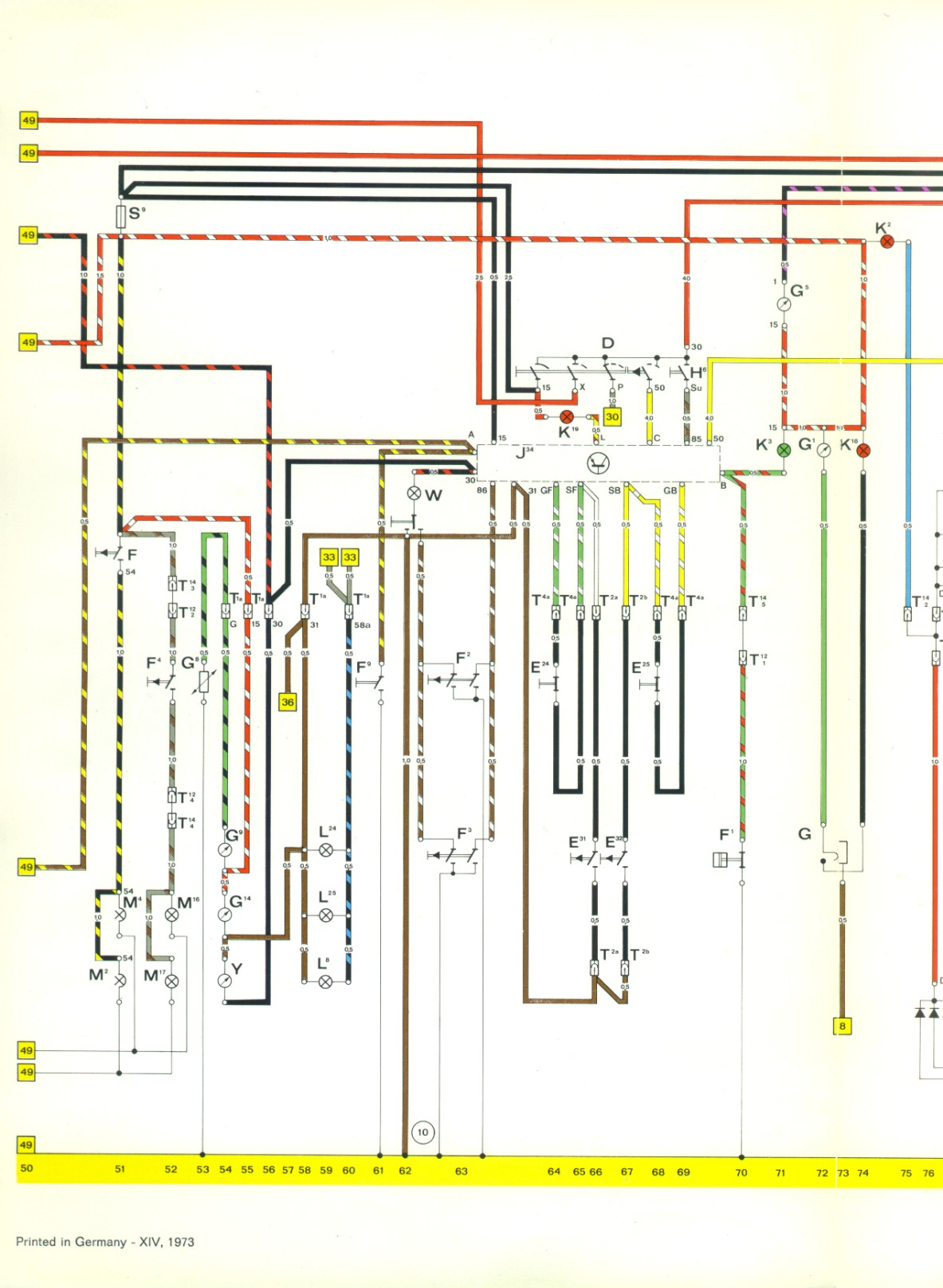 1974 porsche wiring diagram get free image about wiring diagram